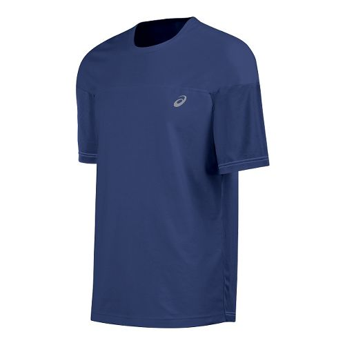 Mens ASICS ASX Dry Short Sleeve Technical Tops - Deep Cobalt M