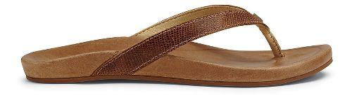 Womens OluKai Hi'ona Sandals Shoe - Tan 9