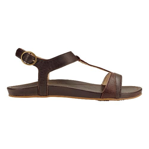 Womens OluKai Hi'ona Sandal Sandals Shoe - Dark Java/Dark Java 8