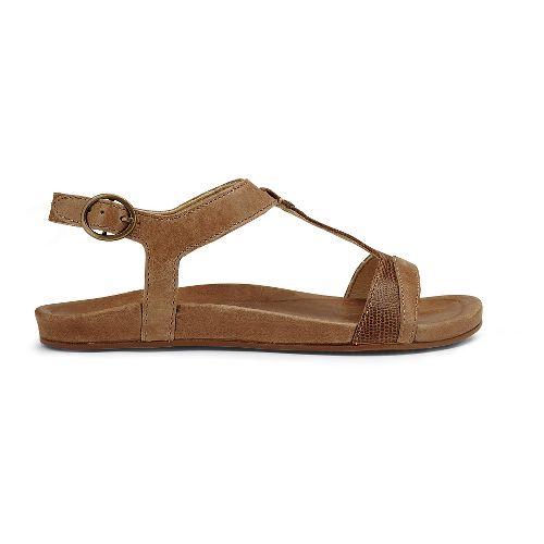 Womens OluKai Hi'ona Sandal Sandals Shoe - Tan 9