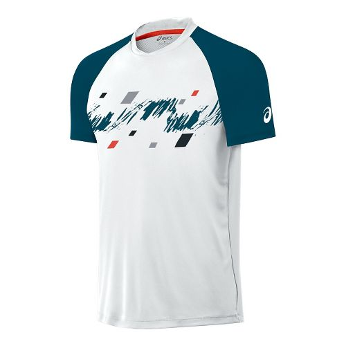 Men's ASICS�Club Graphic Short Sleeve