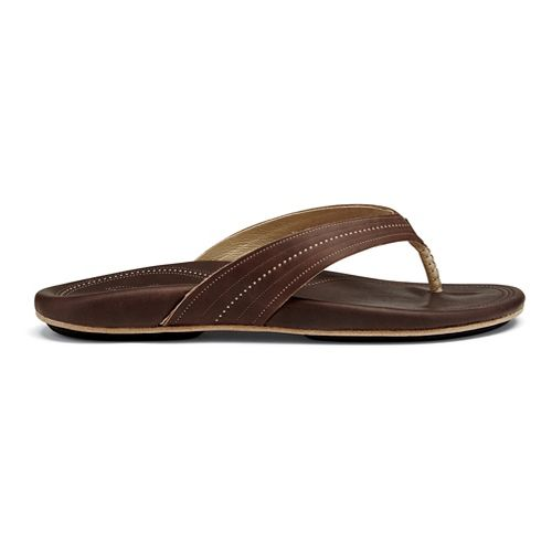 Womens OluKai Wana Sandals Shoe - Dark Java 6