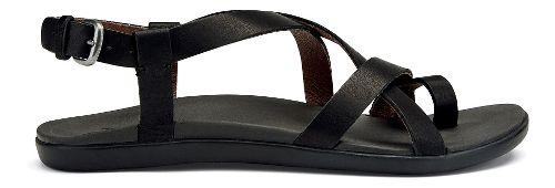 Womens OluKai 'Upena Sandals Shoe - Black 6