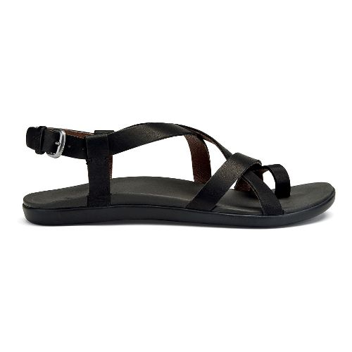 Womens OluKai 'Upena Sandals Shoe - Black 5