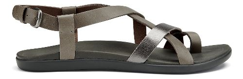 Womens OluKai 'Upena Sandals Shoe - Charcoal/Pewter 5