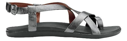 Womens OluKai 'Upena Sandals Shoe - Pewter/Pewter 8