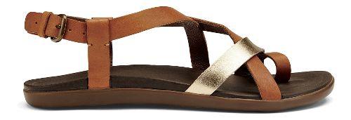 Womens OluKai 'Upena Sandals Shoe - Mustard/Bubbly 10