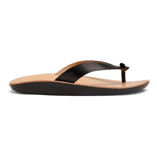 Womens OluKai Loea Sandals Shoe - Black 5