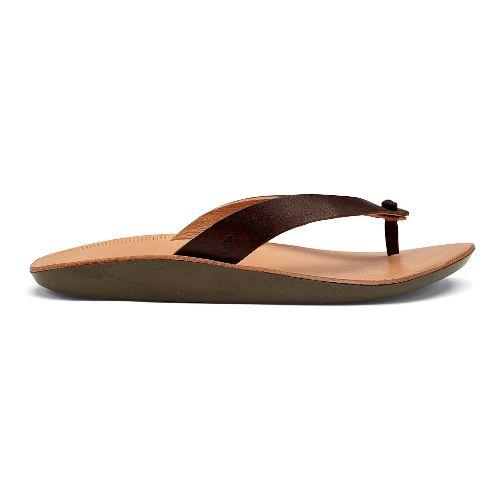 Womens OluKai Loea Sandals Shoe - Dark Java 6