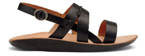 Womens OluKai Loea Sandal Sandals Shoe - Black 7