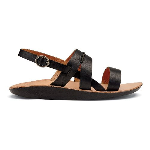 Womens OluKai Loea Sandal Sandals Shoe - Black 7