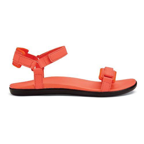 Womens OluKai Luana Sandals Shoe - Coral 6