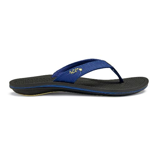 Womens OluKai Kia'I Wahine Sandals Shoe - Sunset Blue/Black 10
