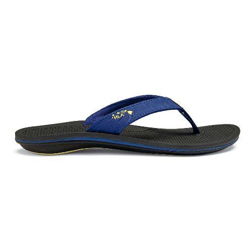 Womens OluKai Kia'I Wahine Sandals Shoe - Sunset Blue/Black 6