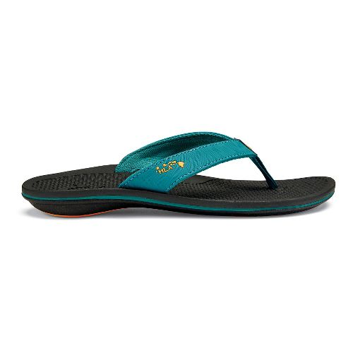 Womens OluKai Kia'I Wahine Sandals Shoe - Teal/Black 10