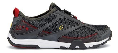 Womens OluKai 'Eleu Trainer Running Shoe - Dark Shadow/Red 7