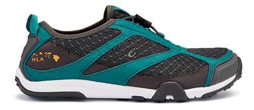 Womens OluKai 'Eleu Trainer Running Shoe - Dark Shadow/Teal 9.5