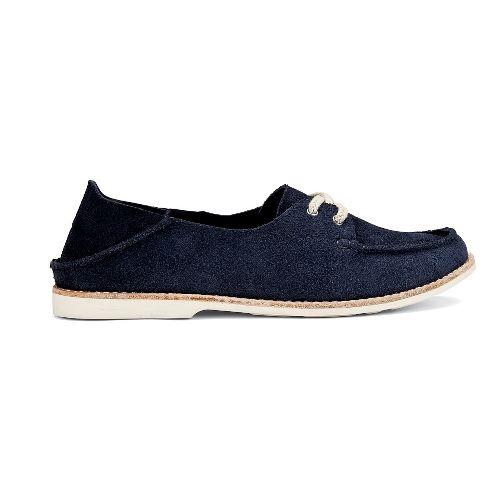 Womens OluKai Moku Casual Shoe - Trench Blue 11