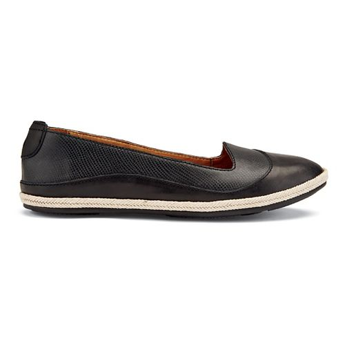 Womens OluKai Lino Casual Shoe - Black 7.5