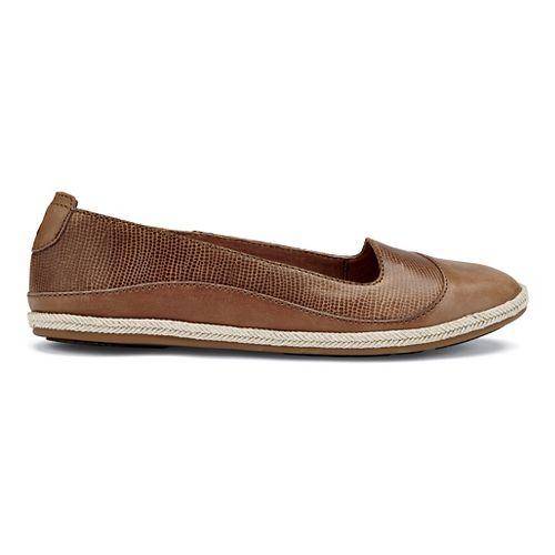 Womens OluKai Lino Casual Shoe - Tan 6.5