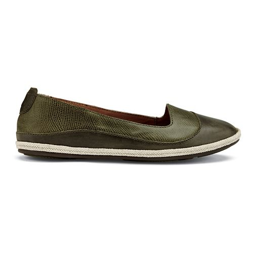 Womens OluKai Lino Casual Shoe - Leaf 5