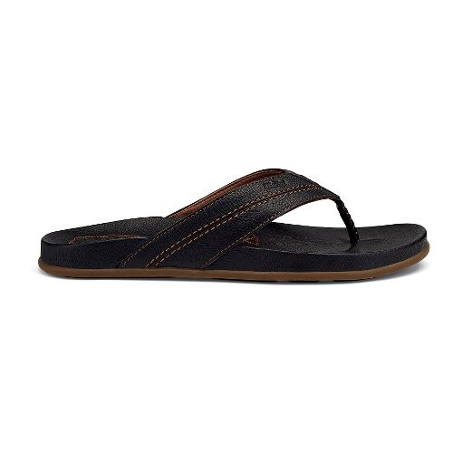 Mens OluKai Mohalu Sandals Shoe - Black 13