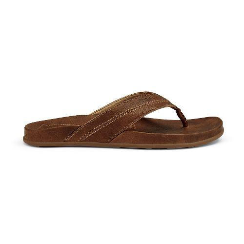 Mens OluKai Mohalu Sandals Shoe - Ginger 7