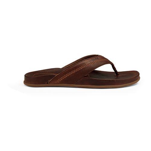Mens OluKai Mohalu Sandals Shoe - Teak 7