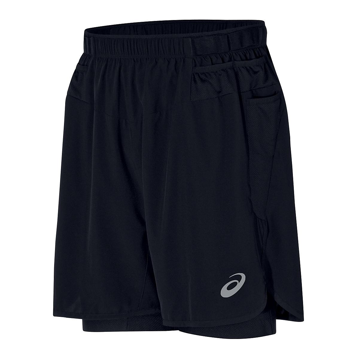 Men's ASICS�FujiTrail 2-N-1 Short