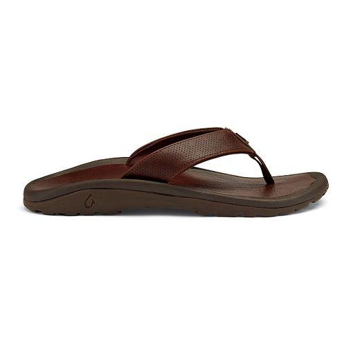 Mens OluKai Kupuna Sandals Shoe - Rum 14