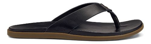 Mens OluKai Kapua Sandals Shoe - Black 10