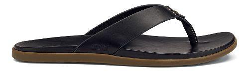 Mens OluKai Kapua Sandals Shoe - Black 13