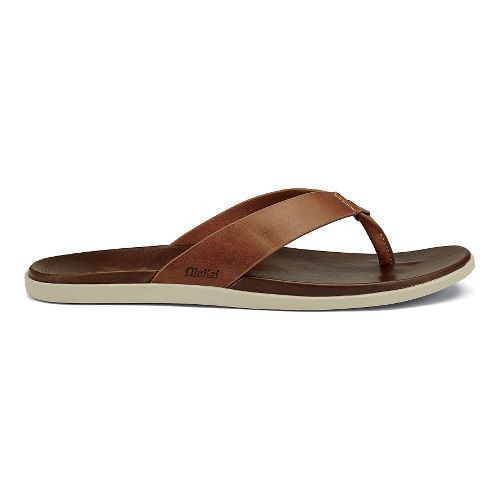 Mens OluKai Kapua Sandals Shoe - Mustard/Toffee 9
