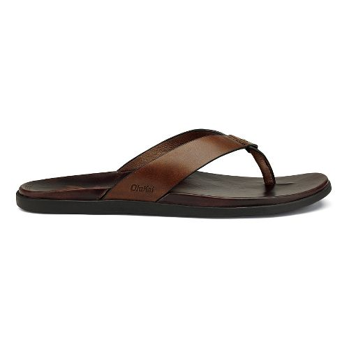 Mens OluKai Kapua Sandals Shoe - Toffee/Dark Java 12
