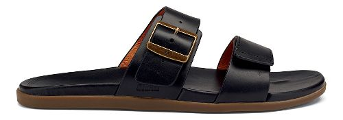 Mens OluKai Kapua Slide Sandals Shoe - Black 12