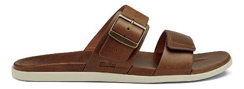 Mens OluKai Kapua Slide Sandals Shoe - Toffee 12