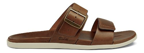 Mens OluKai Kapua Slide Sandals Shoe - Toffee 13