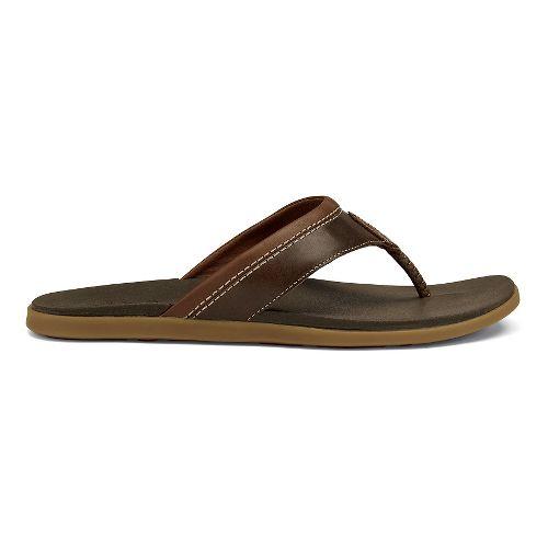 Mens OluKai Polena Sandals Shoe - Dark Java 7