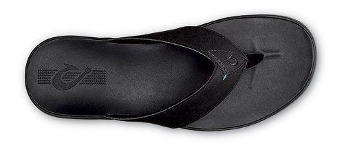 Mens OluKai Holona Sandals Shoe - Onyx/Onyx 9
