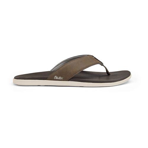 Mens OluKai Holona Sandals Shoe - Mustang/Dark Java 7