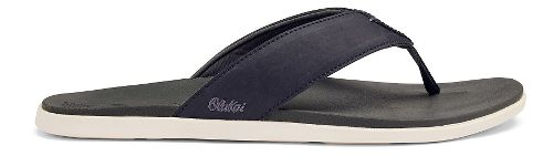 Mens OluKai Holona Sandals Shoe - Carbon/Dark Shadow 8