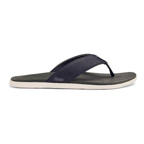 Mens OluKai Holona Sandals Shoe - Carbon/Dark Shadow 13