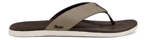 Mens OluKai Holona Sandals Shoe - Clay/Dark Java 14