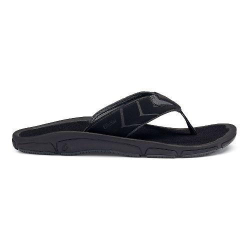 Mens OluKai Kaku Sandals Shoe - Black 11