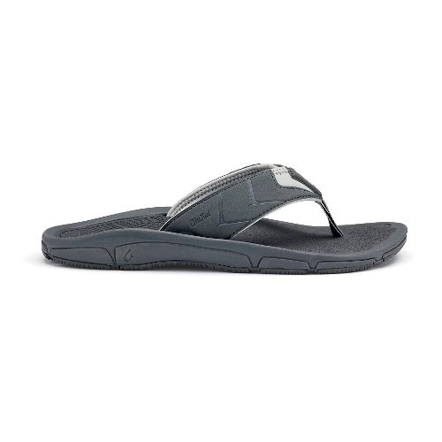Mens OluKai Kaku Sandals Shoe - Charcoal 8