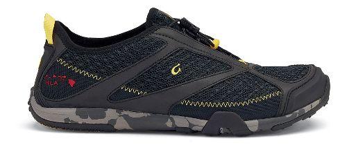 Mens OluKai 'Eleu Trainer Running Shoe - Black 10.5