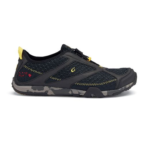 Mens OluKai 'Eleu Trainer Running Shoe - Black 9.5