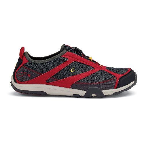 Mens OluKai 'Eleu Trainer Running Shoe - Black 11.5