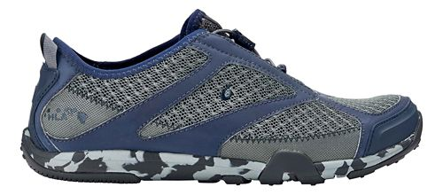 Mens OluKai 'Eleu Trainer Running Shoe - Charcoal/Trench Blue 9