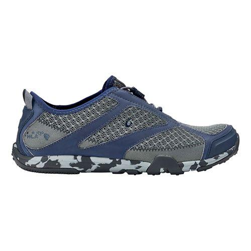 Mens OluKai 'Eleu Trainer Running Shoe - Charcoal/Trench Blue 12